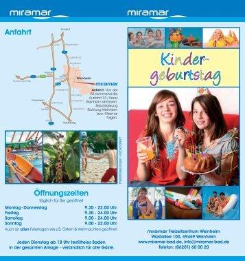Kinder- geburtstag - Miramar