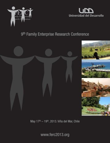 9th Family Enterprise Research Conference - CYFE