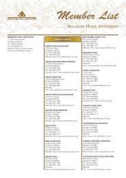 Singapore Logistics Association Members List - Marshall Cavendish