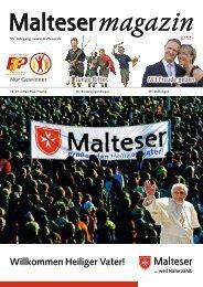 Willkommen Heiliger Vater! - Malteser Magazin