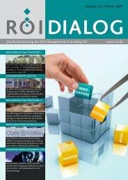 DIALOG Ausgabe 28 - ROI Management Consulting AG