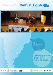 """""""Generando demanda con un modelo integrado a ... - Marktur Forum"""
