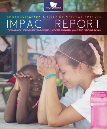 Youth Unlimited Magazine Winter 2013