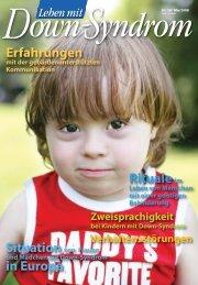 Nr. 58 I Mai - Deutsches Down-Syndrom InfoCenter