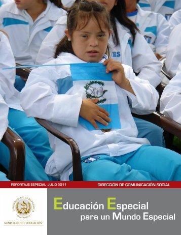 Educación Especial - Ministerio de Educación - Guatemala