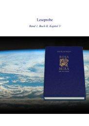 Leseprobe Band 1, Buch II, Kapitel 3 - VEGA e.K.