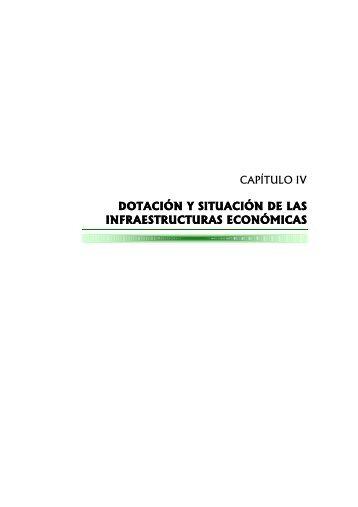 dotación y situación de las infraestructuras económicas - Economía ...