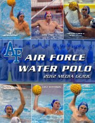 2012 AF Water Polo Media Guide.indd - Community