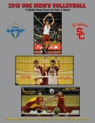 2013 USC MEN'S VOLLEYBALL - Community