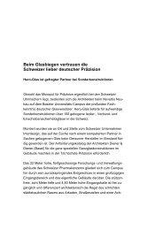 Beim Glasbiegen vertrauen die Schweizer lieber ... - Hero-Glas