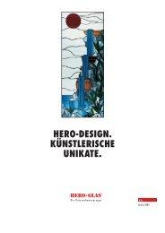 Prospekt HERO-DESIGN - Hero-Glas