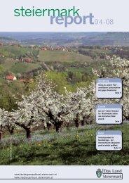 Steiermark Report April 2008 - einseitige Ansicht - Kommunikation ...