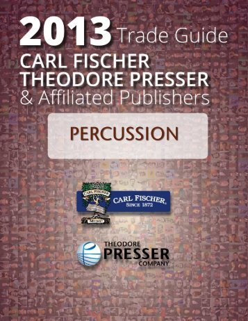 PERCUSSION - the Theodore Presser Company