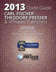 Media - the Theodore Presser Company
