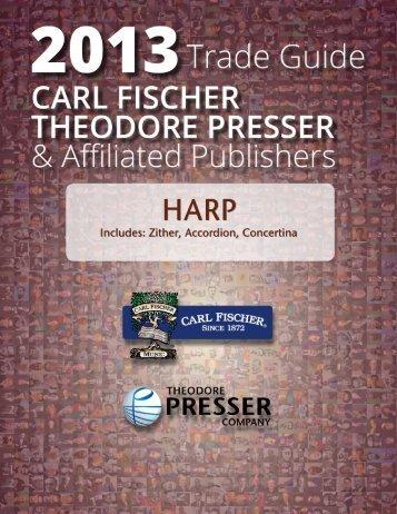 Harp - the Theodore Presser Company