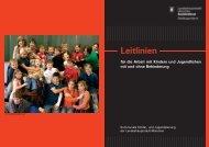 Leitlinien für die Arbeit mit Kindern und Jugendlichen - Mira