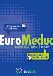 Congrès européen de European congress on media literacy l ...