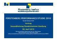 Fürstenberg_Performance Studie 2010 - Handelskammer Hamburg