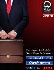 Media Kit - Weekly Voice