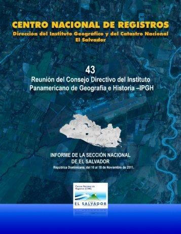 El Salvador - IPGH