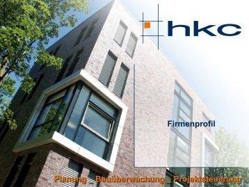 Unternehmensprofil hkc GmbH