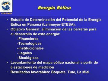 Resumen - Secretaría Nacional de Energía
