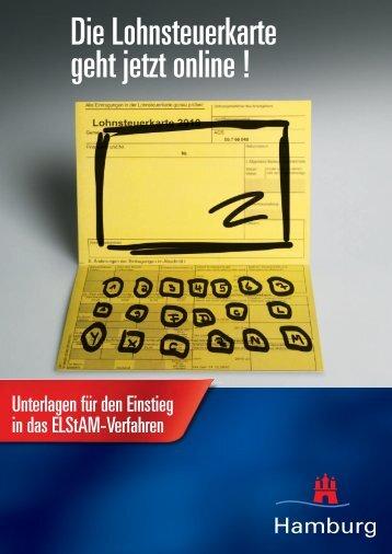 Finanzbehörde Hamburg: Unterlagen für den Einstieg in das