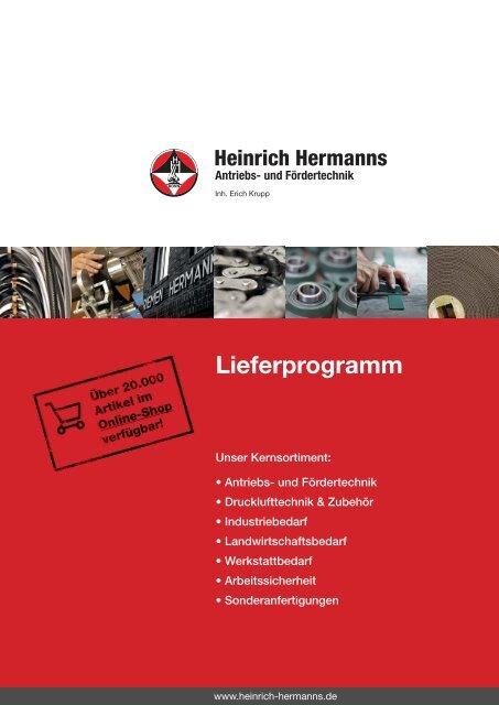 Lieferprogramm Als Pdf Downloaden Heinrich Hermanns Antriebs