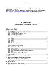 Richtzahlen 2011 zur landwirtschaftlichen ... - Agroscope - admin.ch