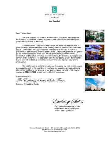 Download a Sales Kit - Embassy Suites