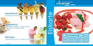 Eiskarte - Miramar