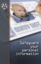 Safeguard your personal information - City of Falls Church