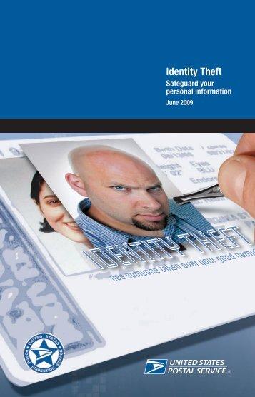 Publication 280 - Identity Theft, Safeguard your ... - USPS.com