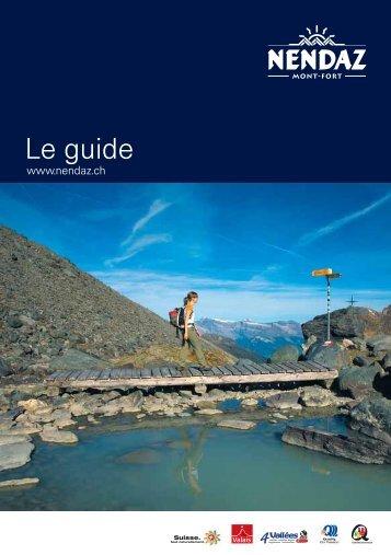 Le guide - Hotel Le Deserteur