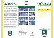 Blood lancets - Heinz Herenz Medizinalbedarf GmbH