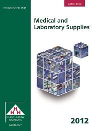 Medical and Laboratory Supplies Medical and Laboratory Supplies