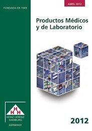 Catálogo - Heinz Herenz Medizinalbedarf GmbH