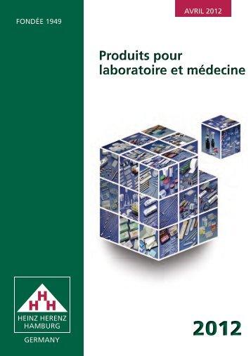 Produits pour laboratoire et médecine Produits pour laboratoire et ...