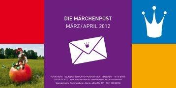 DIE MÄRCHENPOST März / April 2012 - Märchenland - Deutsches ...