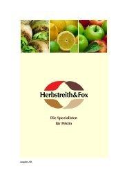Herbstreith&Fox - Herbstreith & Fox