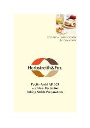 Read more - Herbstreith & Fox