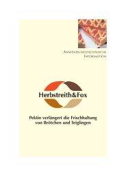 Deutsch - Herbstreith  & Fox