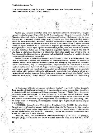 barokk kori mikrákulumos könyvek magyarországi - EPA