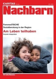 Magazin Nachbarn April 09 - Caritas Aargau