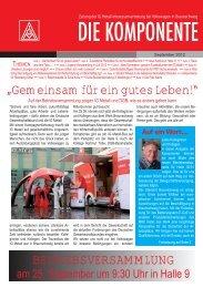 Ausgabe 3/2012 - IG Metall Braunschweig