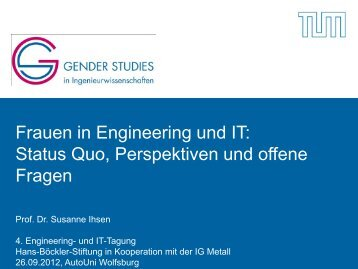 Im Arbeitsmarkt - Engineering IG Metall