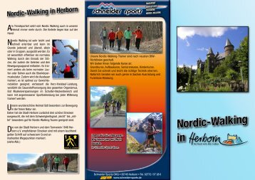 Nordic-Walking in - Stadt Herborn