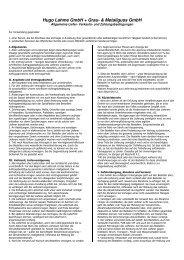Hugo Lahme GmbH + Grau- & Metallguss GmbH