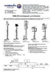 ÖBB-HO-Lichtsignale und Zubehör - mobasi