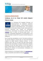 Pressemitteilung zur Lizenzierung von Atlassian-Software (171 kB